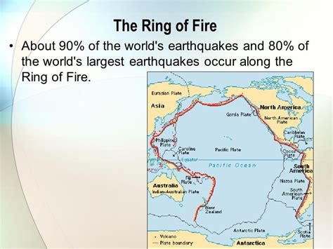 earthquake ring of fire major geological events ppt video online download