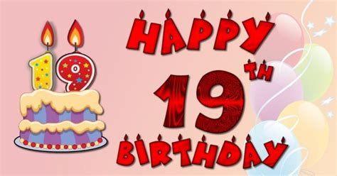Happy 19th Birthday Wishes Happy 19th Birthday Wishes Best 19th Birthday Greetings