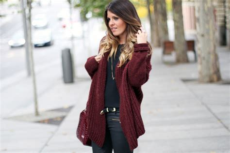 And The City Cast Embroiled In Premiere Spat by Oxblood 30 Inspiring Winter Style Looks