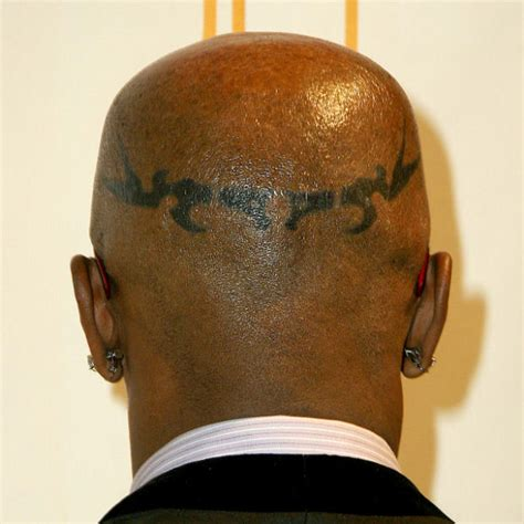 jamie foxx head tattoos photos foxx on
