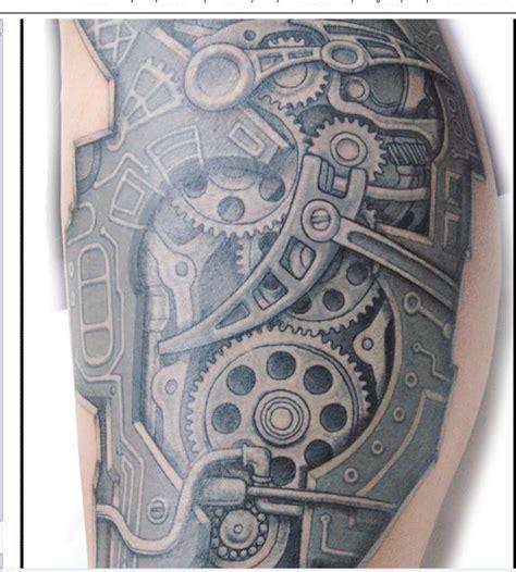 biomechanical tattoo gears biomechanical tattoos and designs page 280