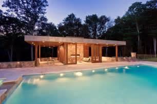 modern pool house modern pool house