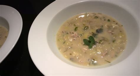 oyster stew louisiana cookin oyster artichoke soup around s table