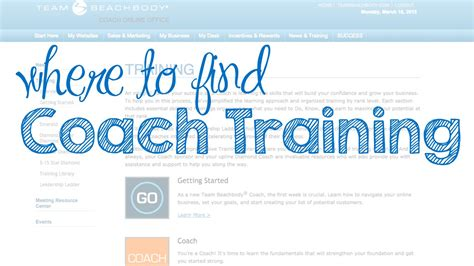 where to find coach beachbody coach