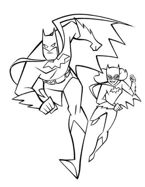 printable coloring pages lego batgirl batman and batgirl coloring page kids super heroes