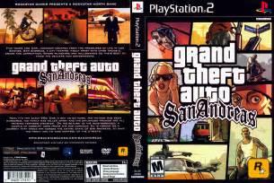 Gta San Andreas Cheats Ps2 Grand Theft Auto San Andreas Cover Sony