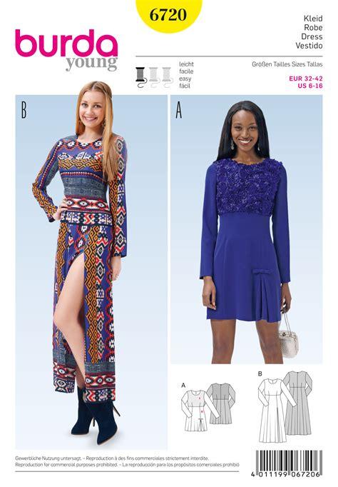 pattern review best patterns 2015 burda 6720 misses dress