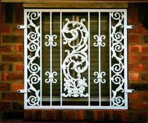 Security Bar For French Doors - india window grill design