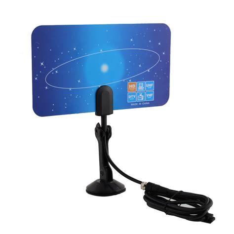 digital indoor tv antenna hdtv dtv box ready vhf uhf pc
