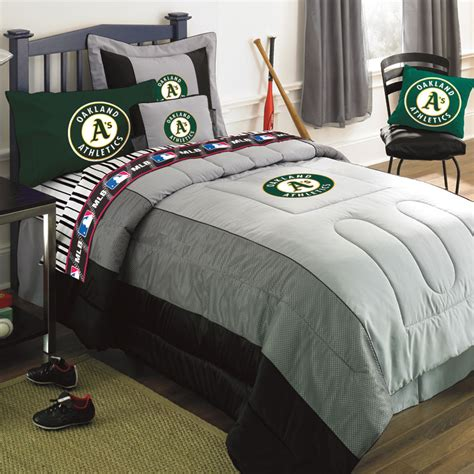 jersey bedding oakland athletics mlb authentic team jersey bedding full