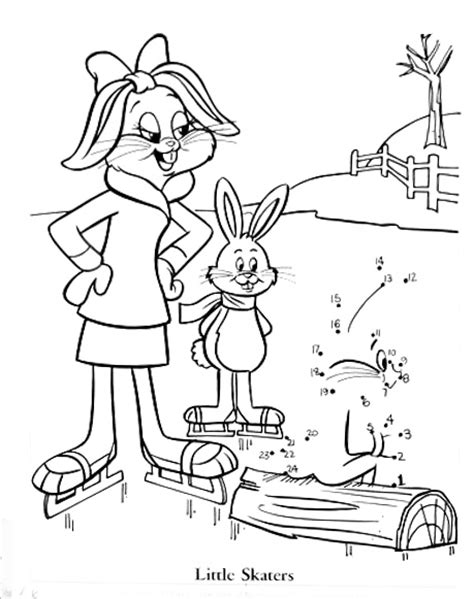 honey bunny coloring pages connect dots and color honey bunny a very unofficial