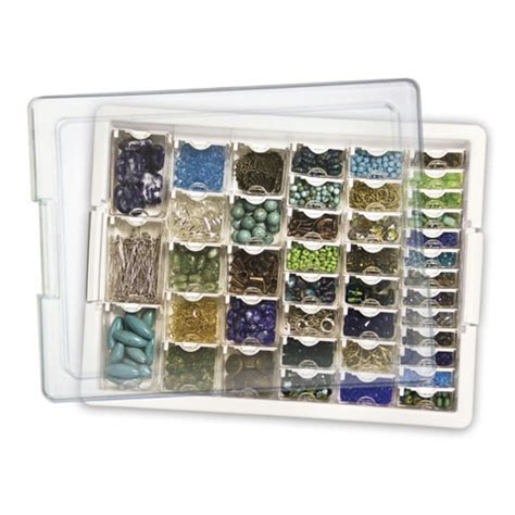 assorted bead storage tray box bead storage solutions
