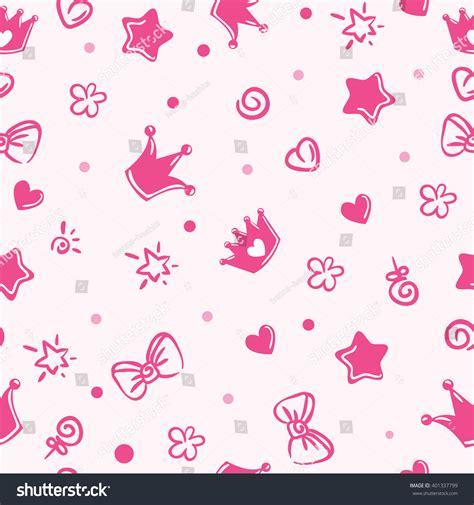 pattern princess vector pattern princess stock vector 401337799 shutterstock