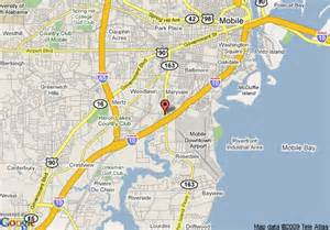 us port cities map map of port city inn mobile
