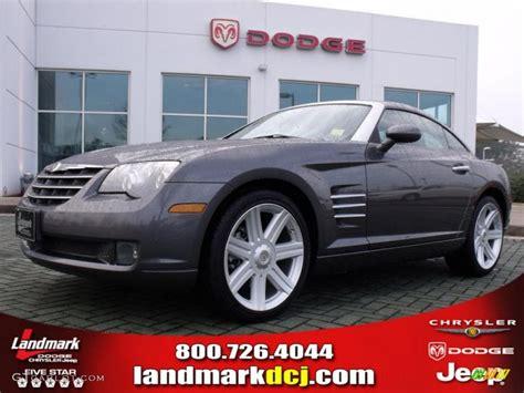 2005 graphite metallic chrysler crossfire limited coupe 27235198 gtcarlot car color