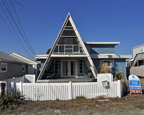 A Frame Style House | panoramio photo of a frame style house beach block