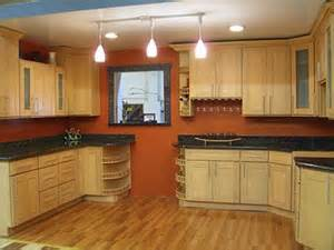 best paint colors for kitchen with maple cabinets google