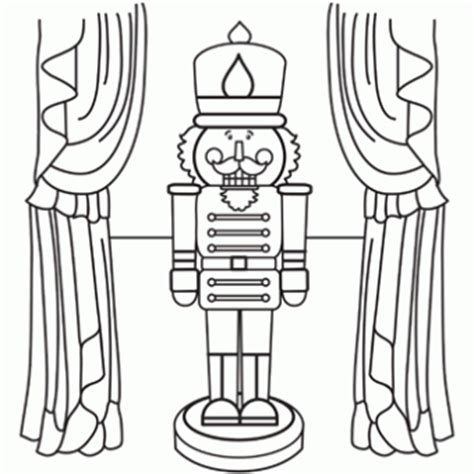 nutcracker template nutcracker coloring page free recipes