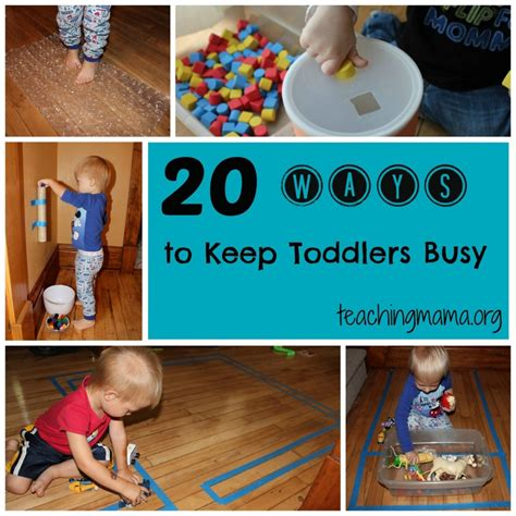 How To Keep Toys From Going The by 20 Ways To Keep Toddlers Busy