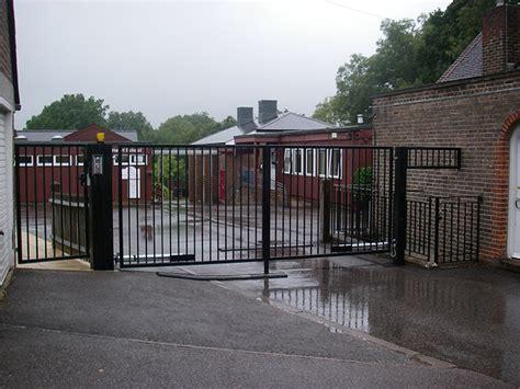 swing gate school school gates designer fitter in surrey sussex