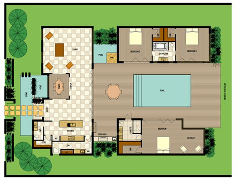 pdf version bedroom villa plan house plans 44627