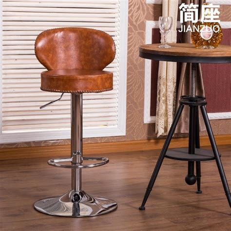 Leather Saddle Style Bar Stools by Leather Saddle Bar Stools Polywooda Contempo 24 Saddle Bar