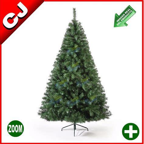 arbol de navidad 250 verde canadiense pino artificial