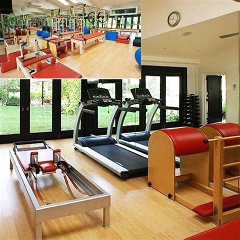 celebrity home gyms go inside 13 celebrity home gyms pilates studio and gym