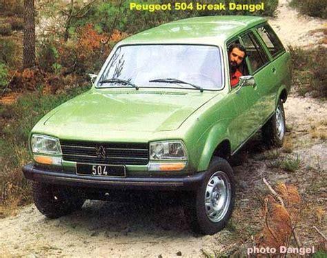 peugeot 4x4 range dangel peugeot 504 4x4 1982 auta5p id 3805 fr