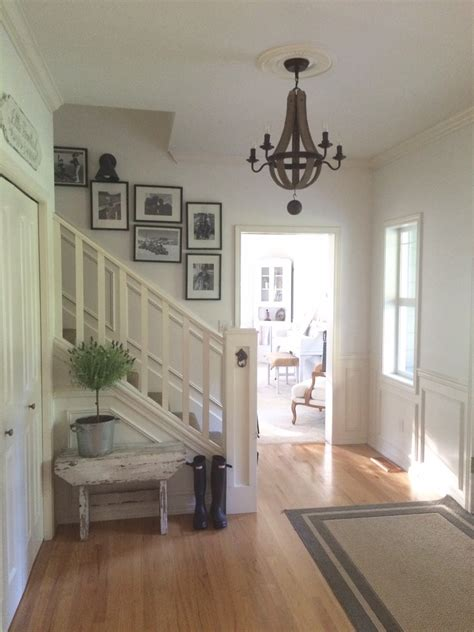 foyer lighting farmstead a farmhouse entryway chandelier