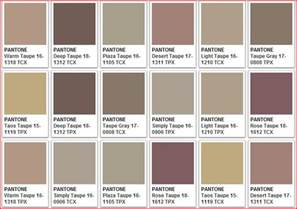Taupe Color by Taupe Color Chart