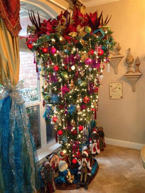 upside down christmas trees christmas decor pinterest 17 best images about upside down christmas trees on