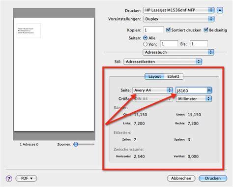 Etiketten Drucken Excel Mac 2011 by Howto Etiketten Mit Dem Adressbuch Mac Blogmac