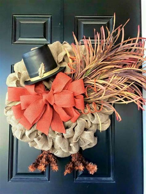 picture of 101 cool fall wreath ideas