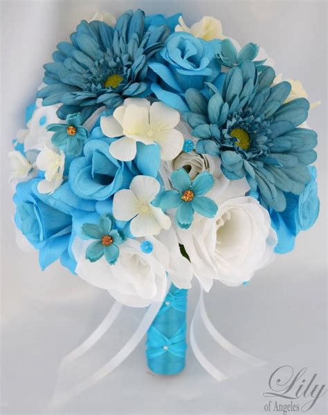 Wedding Flower Decoration Packages by 17 Package Wedding Bridal Bouquet Silk Flower