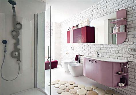 Pink And Black Tile Bathroom Decorating Ideas Pink And Black Bathroom Accessories