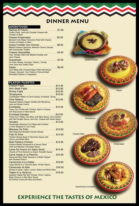 mexican menu ideas for dinner fresco mexican restaurant chester nj dinner menu