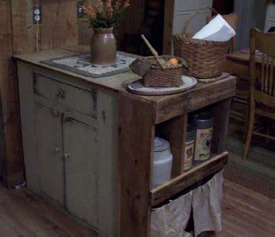 primitive kitchen islands the prairie house primitives my kitchen dining room make primitive cabinets