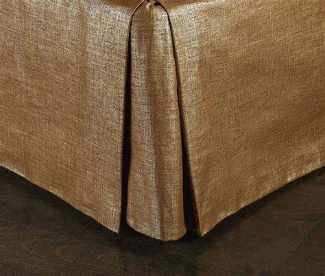 gold bed skirt sandi pointe virtual library of collections