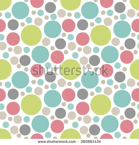 pattern round background vector fabric circles abstract seamless pattern stock