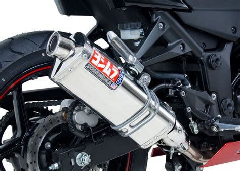 Yoshimura Japan Stainless 250 Series yoshimura 250r 2008 12 trs slip on exhaust stainless muffler