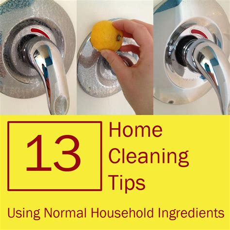 home cleaning tips 13 home cleaning tips using normal household ingredients
