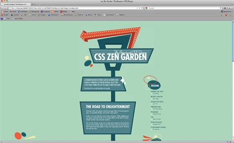 css tutorial zen garden marry tonnu