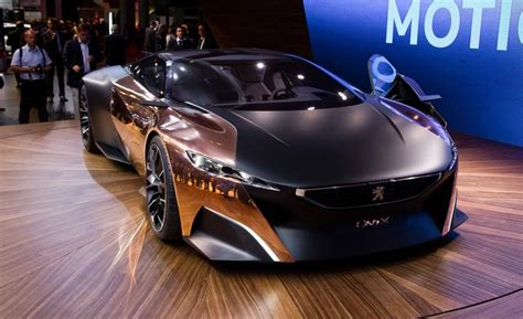 luxury peugeot cars peugeot s onyx hybrid supercar 2012 futuristic car