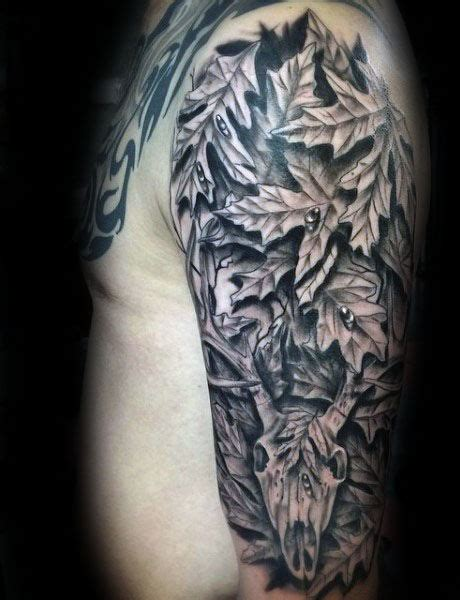 camo deer tattoo 40 camo tattoo designs for men cool camouflage ideas