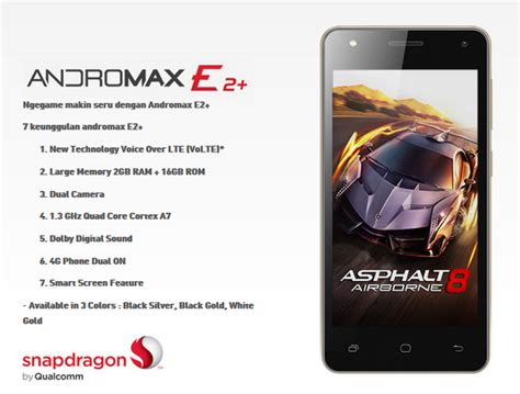 Hp Smartfren Andromax E2 andromax e2 dan andromax a hp 4g lte murah dari