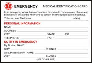 buy medical id wallet cards