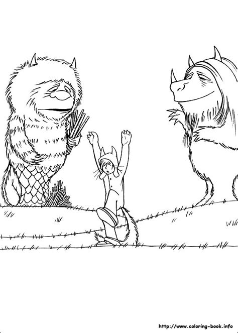 Where The Wild Things Are Coloring Pages Az Coloring Pages Coloring Pages Of Stuff