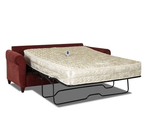 sofa beds mattress milner sofa bed with memory foam