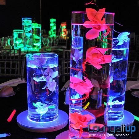 neon centerpiece ideas 629 best my 15th quince images on quinceanera
